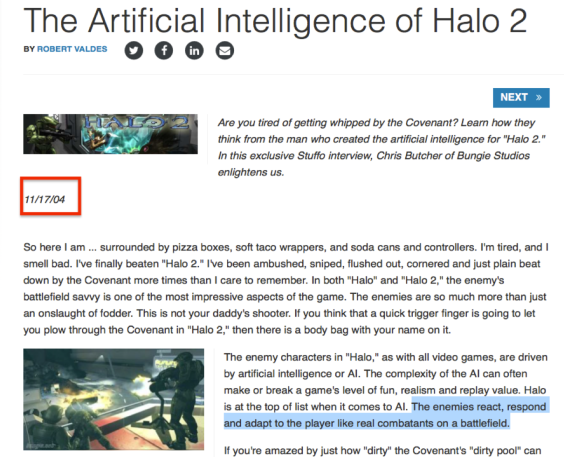 Review AI Halo 2