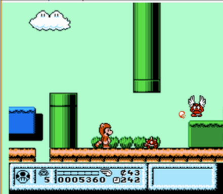 screenshot mario bros ai